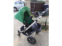Bugaboo Cameleon Travel System with Maxi Cosi Car Seat, Adapter, Easy Base and Accessories