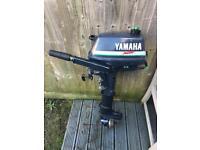 Yamaha 3hp Malta short shaft 2 stroke outboard boat engine