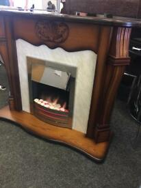 Electric fire surround can deliver