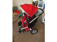 Red Joolz Day Pushchair package