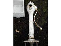 Cowtail pump