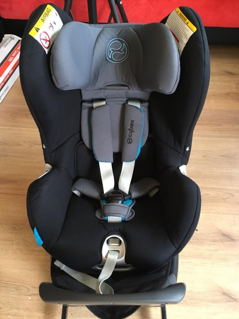 Cybex Sirona Platinum Iso Fix Front Rear Facing 360 Rotating Car Seat
