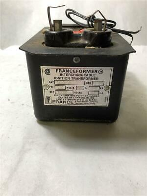 Franceformer 5lay-15 120 Volts 60hz Interchangeable Ignition Transformer