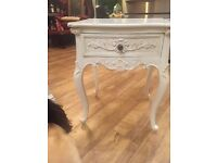 Two Shabby chic bedside tables