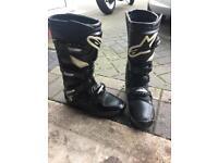 Alpinestars bike boots size 7
