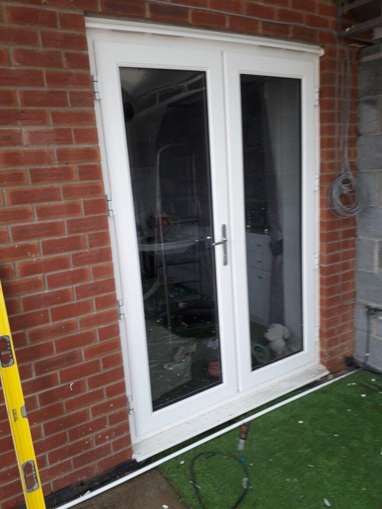 White Pvc French Doors In Bridgend Gumtree