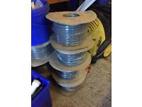 NEW 6MM ELECTRIC CABLE 50M ROLLS
