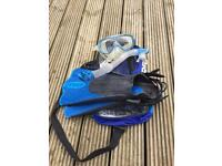 Cressi Snorkel Travel Kit