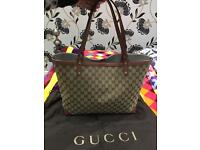 Authentic GUCCI Tote Bag serious buyers ONLY