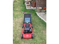 Sovereign XSS40H2 Petrol Lawnmower Push Propelled 40cm Cut 129cc