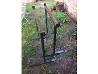 Builder's workbench trestles