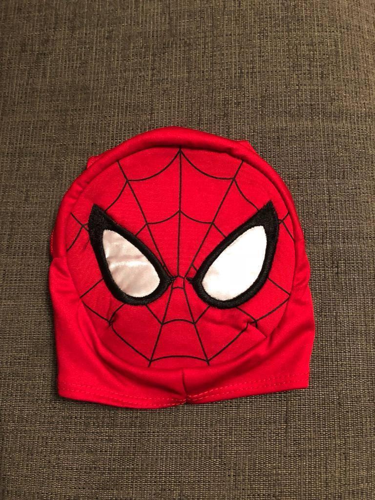 Build a bear Spider-Man mask