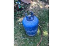 Calor gas bottle & regulator 15kg