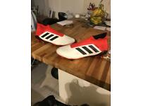 Adidas predator white and red