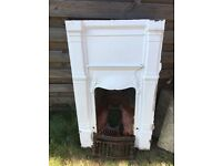 Period Fireplace, 1900s, 105cm tall x 60cm wide (approx)