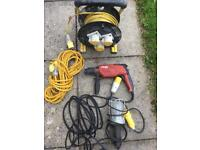 Hilti drill and extensions