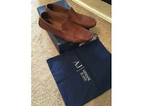 Armani jeans casual shoe size 11 good condition with box and dustbag