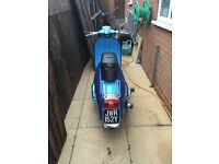 Lambretta Scooter 1983 125cc Blue