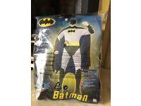 Adult Smiffy Batman Costume size L