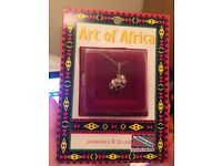 Sterling Silver Elephant Necklace - African Souvenir
