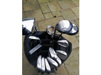 Mizuno irons 3_9 putter sand wedge pitching wedge ball pond collector golf bag plus 1_3 drivers ping