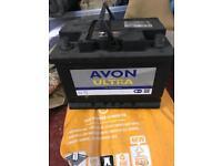 Car battery 075