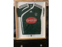 Framed Plymouth Argyle Signed Shirt 02.01.2010 V Newcastle United