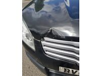 Good but accident damaged qhashai +2