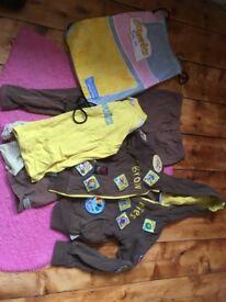 Free Brownies uniform 7-8 year old