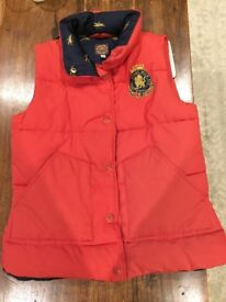 Joules Gilet Size 8