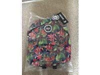 Brand new hype back pack floral design