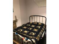 Double Bed with Mattress 1 yr old