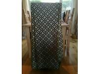 Ikea curtains (green)