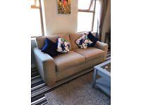 Large 2 seater sofa + armchair + tub chair