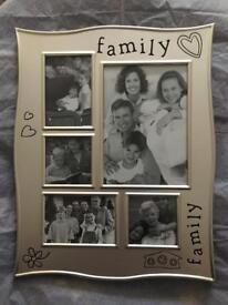 FAMILY PHOTO FRAME - NEW IN BOX