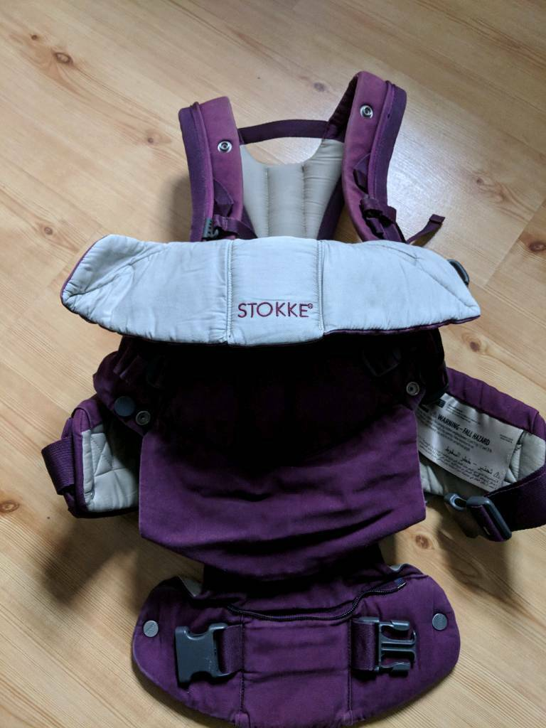 Stokke Mycarrier 3 In 1 Baby Carrier Plum In Thurnscoe South Yorkshire Gumtree