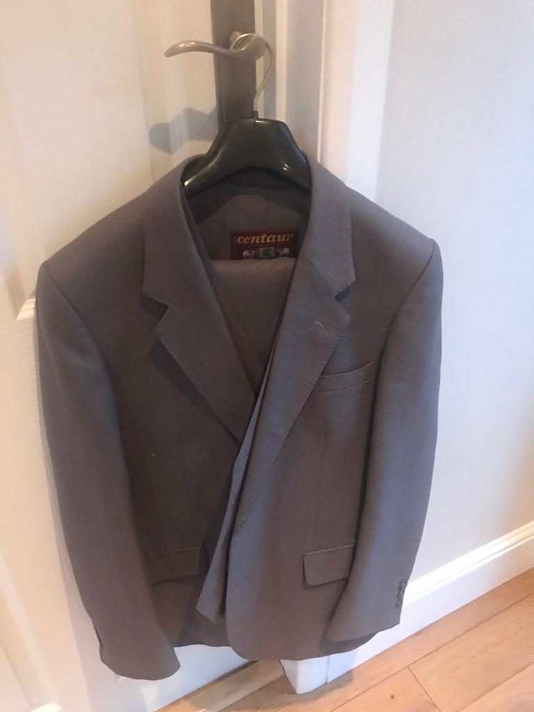 Centaur grey classic three piece suit