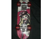 'SMALL 'JUNIOR 'BRATZ ROCK ANGELZ' Skateboard.