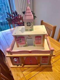 Wooden Princess Castle