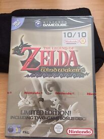 New & Sealed The Legend of Zelda: The Wind Waker for Nintendo GameCube