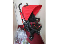 Fisher Price Foldable Pushchair Stroller Buggy suitable from birth Raincover