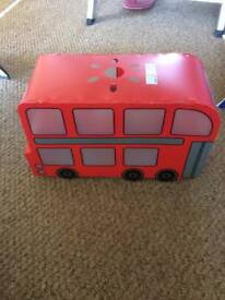 Red bus lampshade