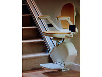 ACORN 130 STAIRLIFT FOR STRAIGHT STAIRCASE - FITTED NATIONWIDE AND FULLY GUARANTEED BY MANUFACTURER