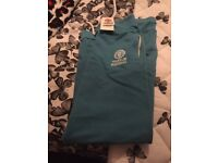 brand new with tags mens franklin marshal cotton blend bottoms size XL colour blue