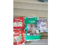 Nappies size and pull ups size 5 5+ and 6