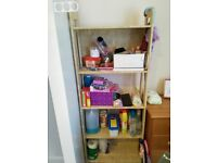 Bookcase LAIVA and FLISAT from IKEA light brown colour, like new, only 1 year old