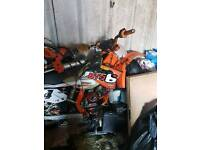 Ktm 250 2 stroke needs rebuild had full engine rebuild