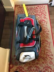 Slazenger large wheely bag cricket sport