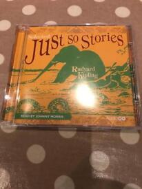 Rudyard Kipling just so stories audio cd