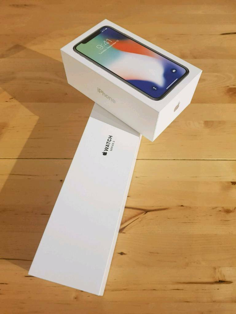 release date: cb12f a84c9 IPHONE X and Apple Watch 3 Series Factory Unlocked Brand New | in  Dennistoun, Glasgow | Gumtree